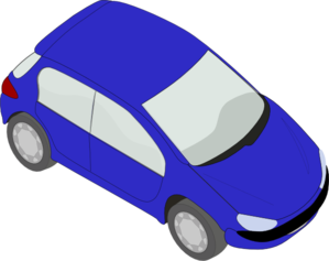 299x237 Blue Small Car Clip Art