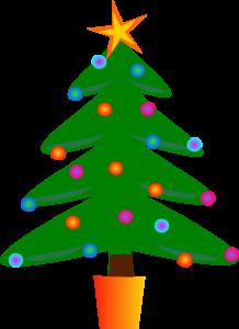 218x300 Christmas Clipart Small Christmas Tree Clip Art