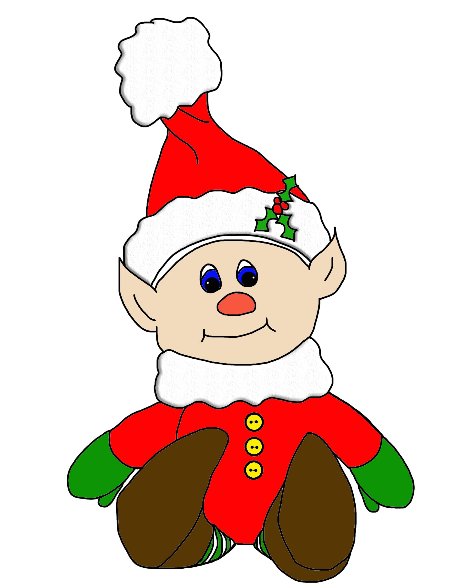 1934x2400 Christmas Elf Cliparts