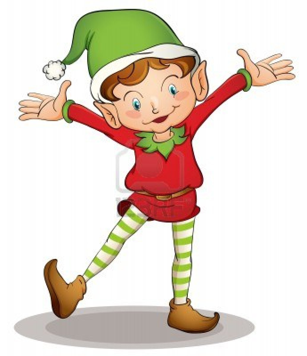 1035x1200 Clipart Christmas Elves Merry Christmas And Happy New Year 2018