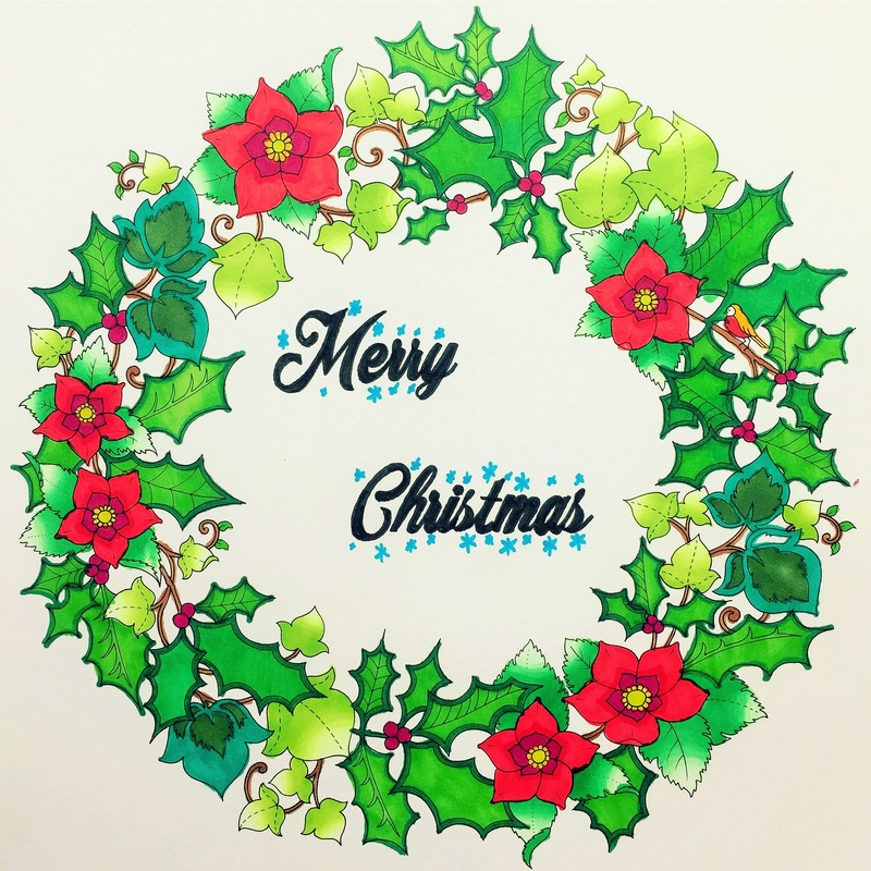 800x800 Johanna's Christmas By Johanna Basford