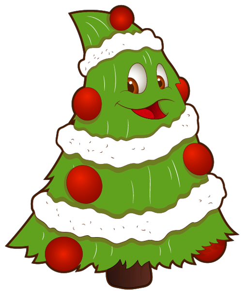 508x600 Transparent Funny Small Christmas Tree Png Clipart Christmas