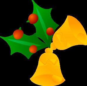 297x294 Christmas Bells (Rotated) Clip Art