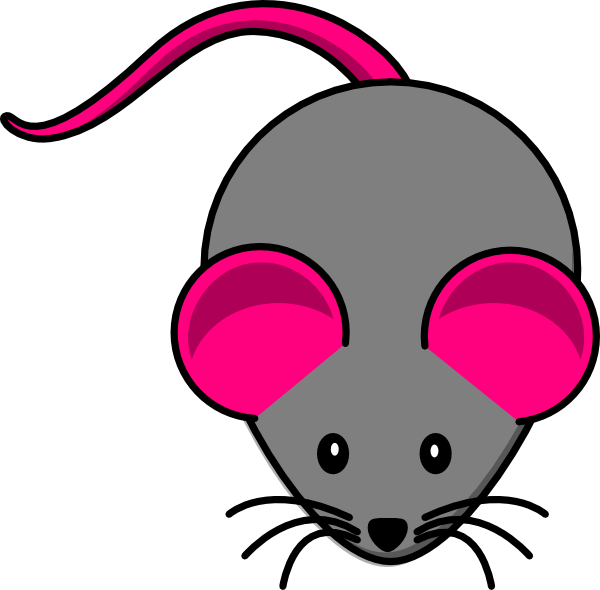 600x590 Tiny Cute Mouse Clipart