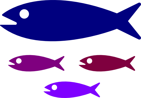 600x416 Clipart Of Small Fish Clip Art Free Download New