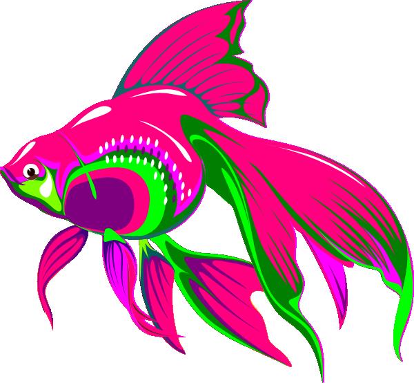 600x554 Gold Fish Clip Art