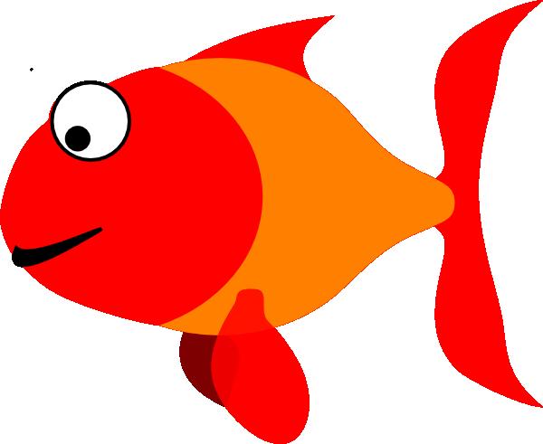 600x491 Happy Fish Clip Art