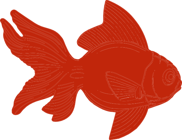 600x460 Orange Fish Clipart Clip Art