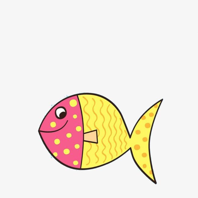650x651 Cute Cartoon Fish, Cartoon, Small Fish, Hand Painted Png Image
