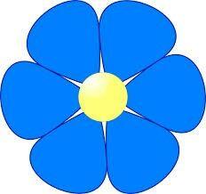 232x218 6 Petal Flower Clipart Mosaic Flower Clipart