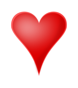 265x300 Heart Png Clip Arts For Web