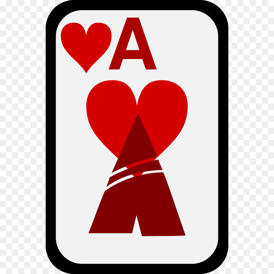 900x900 Ace Of Hearts Ace Of Spades Clip Art