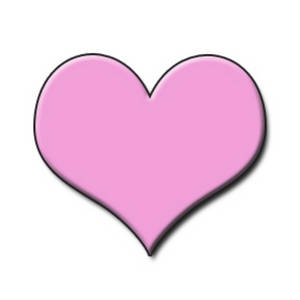 300x300 Little Pink Heart Clipart
