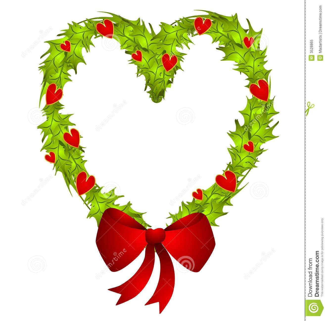 1322x1300 Christmas Heart Clipart