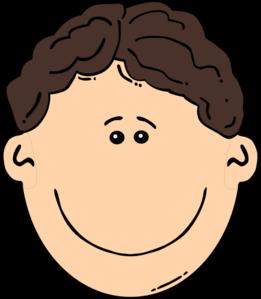 261x299 Smiling Brown Hair Man Clip Art