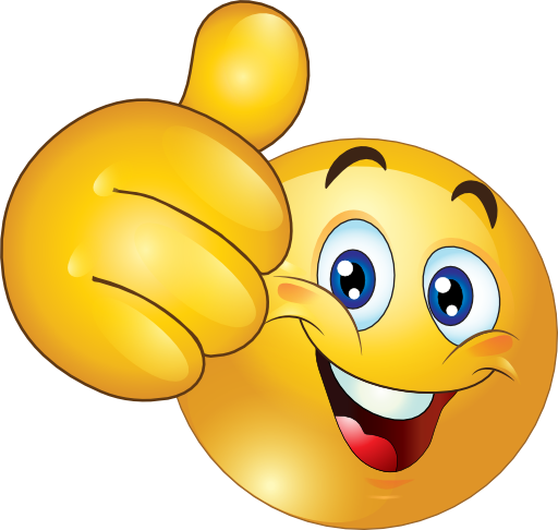 512x486 Thumbs Up Happy Smiley Emoticon Clipart Royalty Free Beginning