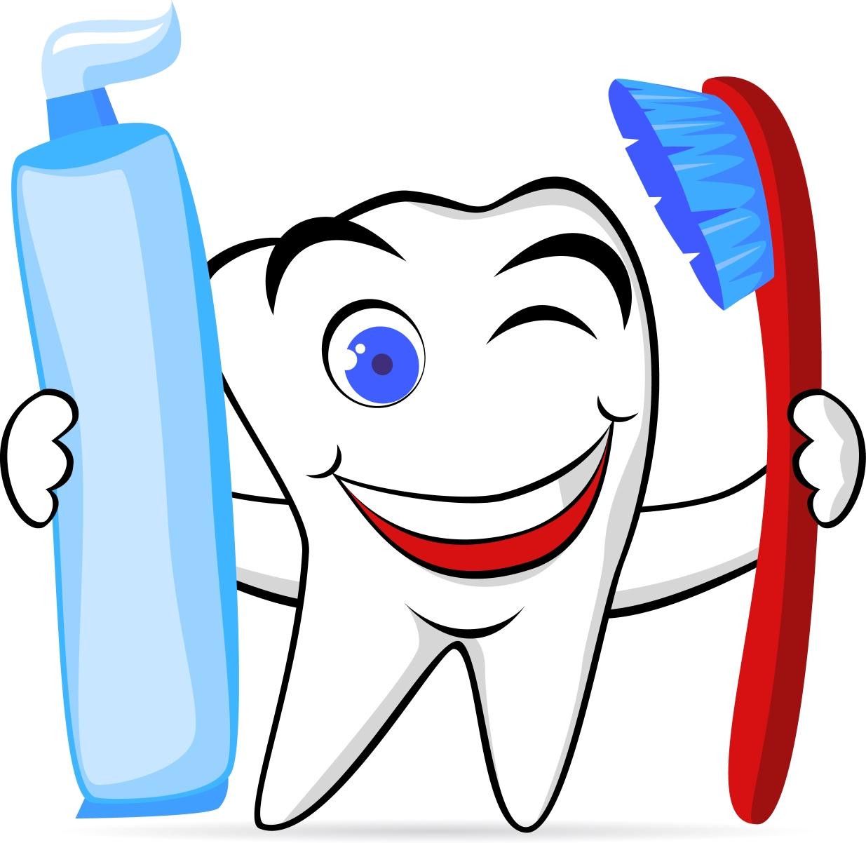 1235x1202 Clip Art Clip Art Of Brushing Teeth