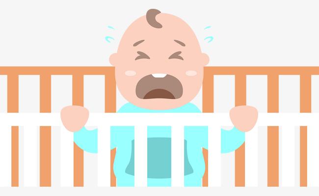 650x400 Cute Little Baby Baby Vector, Cartoon, Baby Crying, Vector Diagram