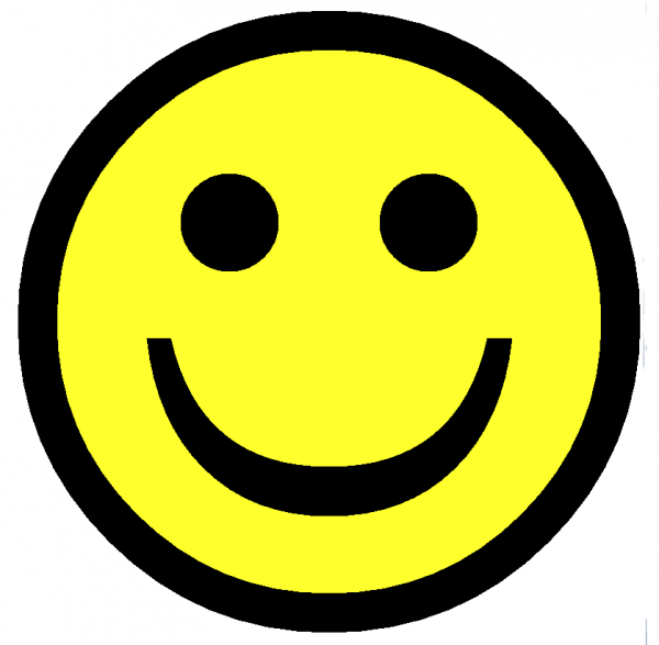 600x587 Collection Of Smiley Face Clipart Png High Quality, Free