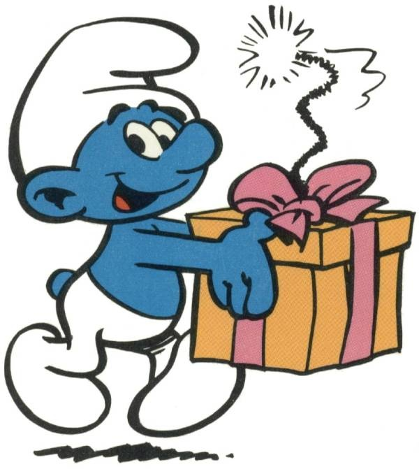 600x671 Smurfs Clipart Happy