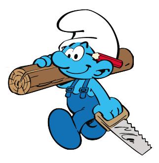 322x331 Handy Smurf Smurfs Wiki Fandom Powered By Wikia