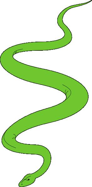294x597 Garden Snake Clipart