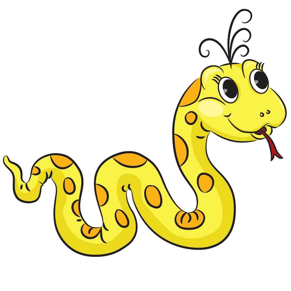 1185x1185 Yellow Snake Clipart Snake Review