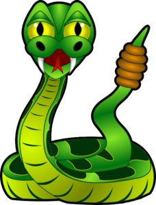 228x299 5 rattle snake clip art