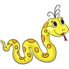 236x236 Clipart Funny Snake Royalty Free Vector Design