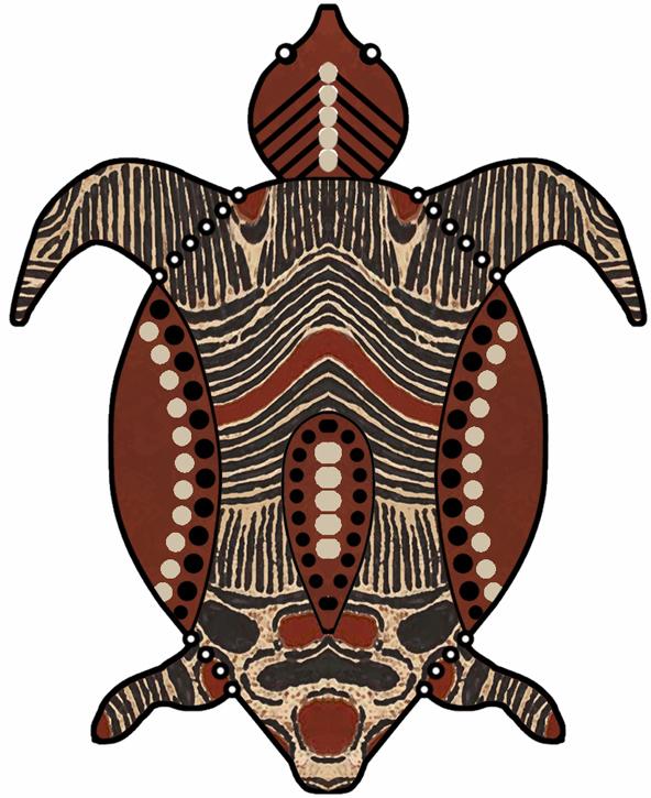 592x725 Turtle Clipart Aboriginal