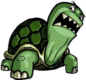 300x279 Collection Of Angry Turtle Clipart High Quality, Free