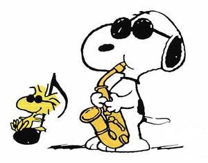 300x235 Peanuts Snoopy Woodstock Jazz 5x7 Iron On Transfer Ebay