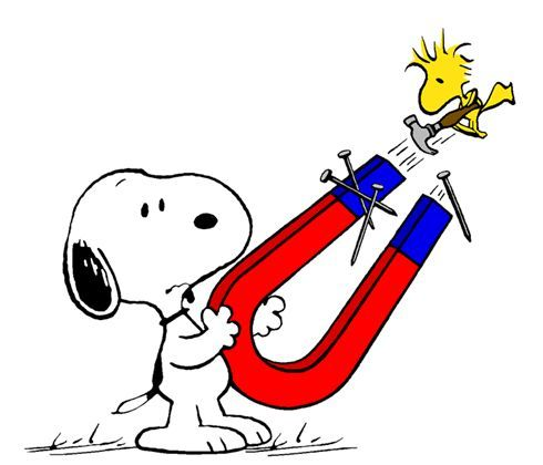 490x420 Clip Art Magnets, Science With Snoopy Amp Woodstock Snoopy