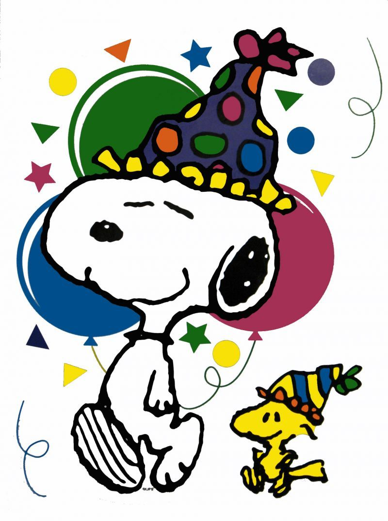 Snoopy Birthday Clipart At Getdrawings Free For Personal Use
