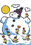 121x174 Christmas Snoopy Clip Art