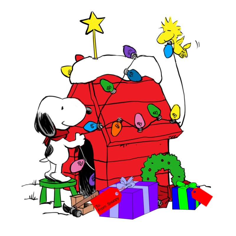 snoopy christmas clipart at getdrawings com free for personal use rh getdrawings com snoopy christmas black and white clipart snoopy christmas clip art free