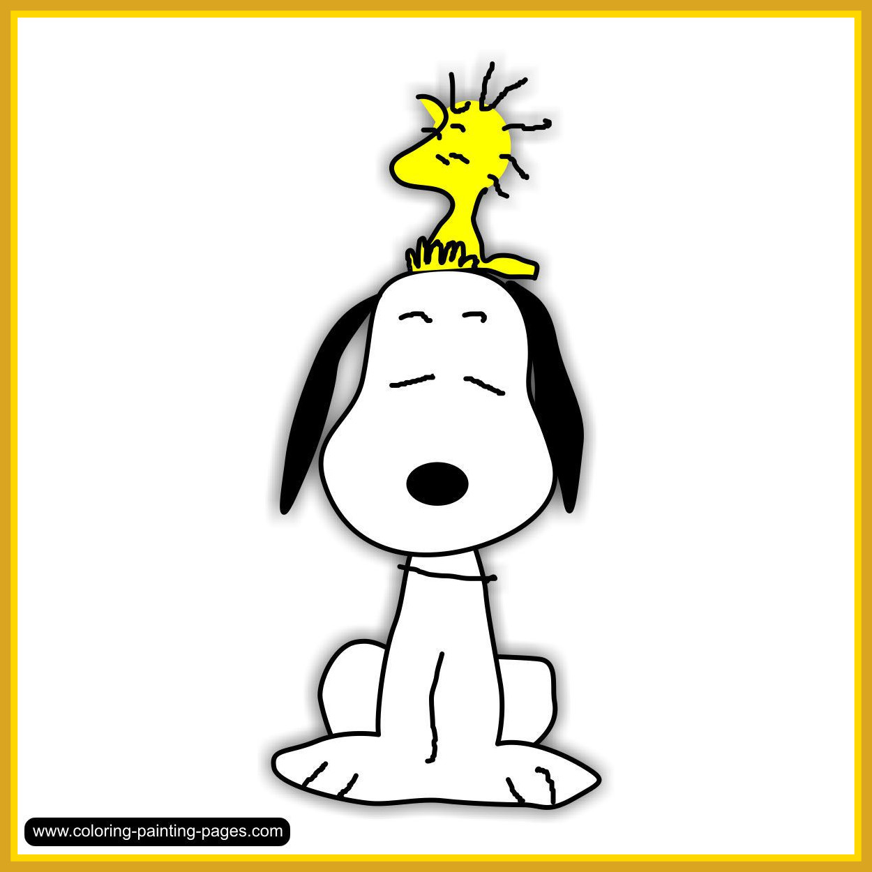 1250x1250 Inspiring Snoopy Spring Clipart Clip Art Library Pict For Coloring