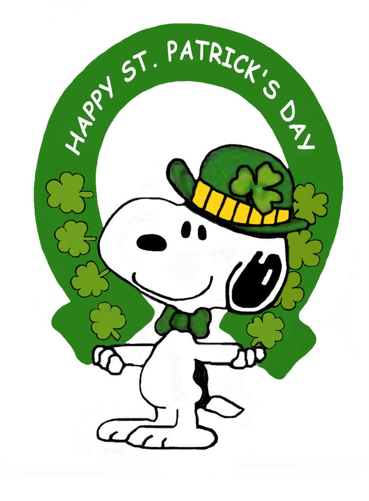 755x1024 Collection Of Snoopy St Patricks Day Clipart High Quality