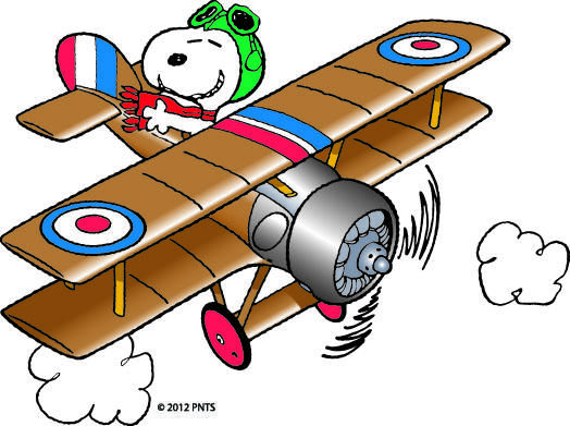 524x391 Snoopy Clipart Airplane'23748
