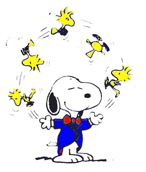 510x600 Snoopy Clipart Classic