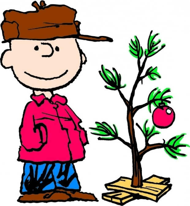 620x670 Charlie Brown Clipart Christmas