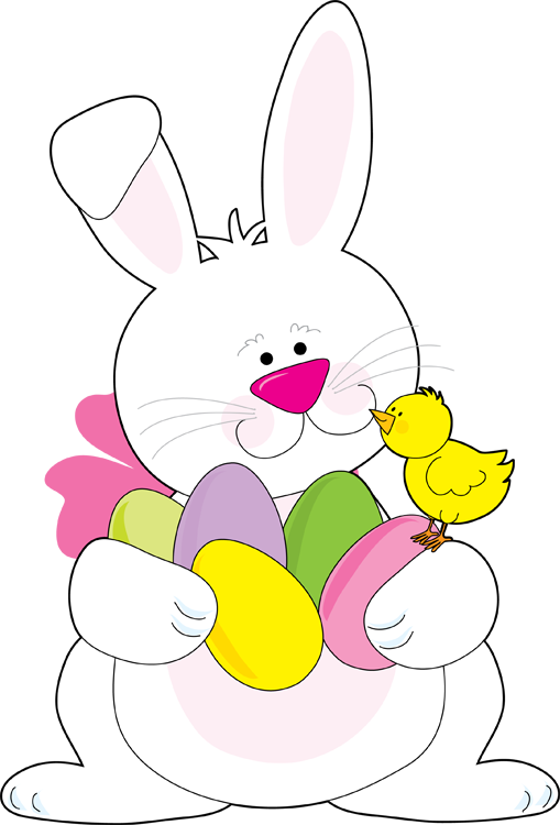 509x750 Clip Art To Color Easter Clipart