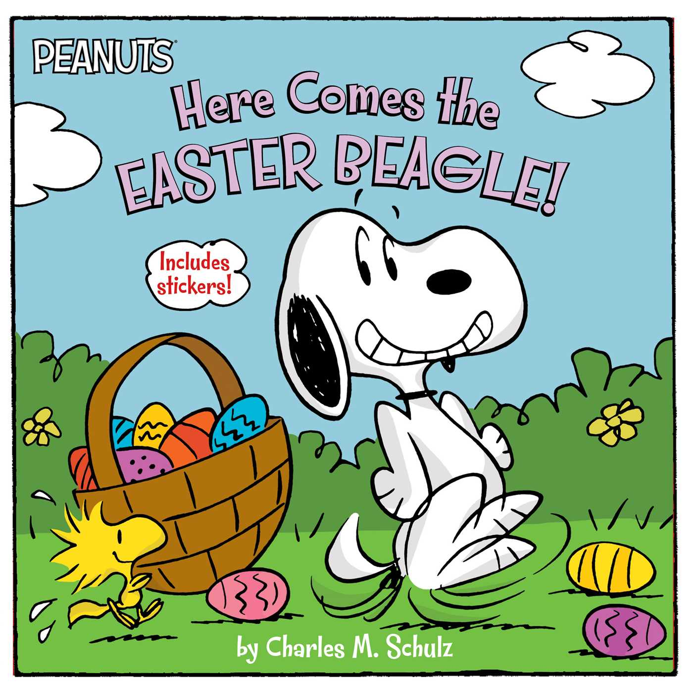 1400x1400 Here Comes The Easter Beagle! Book By Charles M. Schulz, Jason