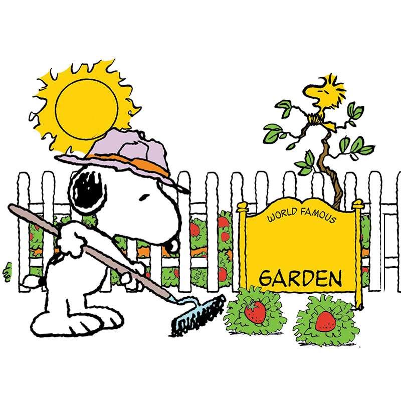 800x800 Snoopy Spring Clip Art