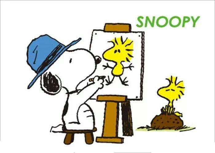700x500 Snoopy The Artist Snoopy Snoopy, Charlie Brown