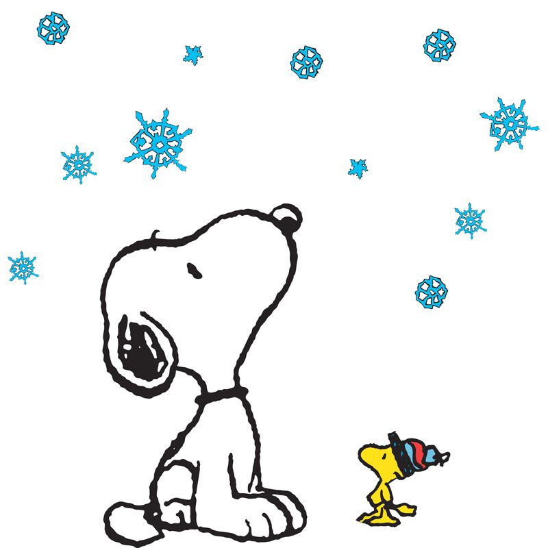 800x800 Collection Of Snoopy Winter Clipart High Quality, Free