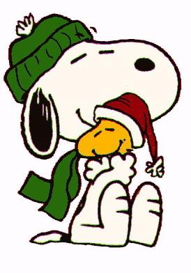 274x392 Cartoons Clip Art Christmas Snoopy
