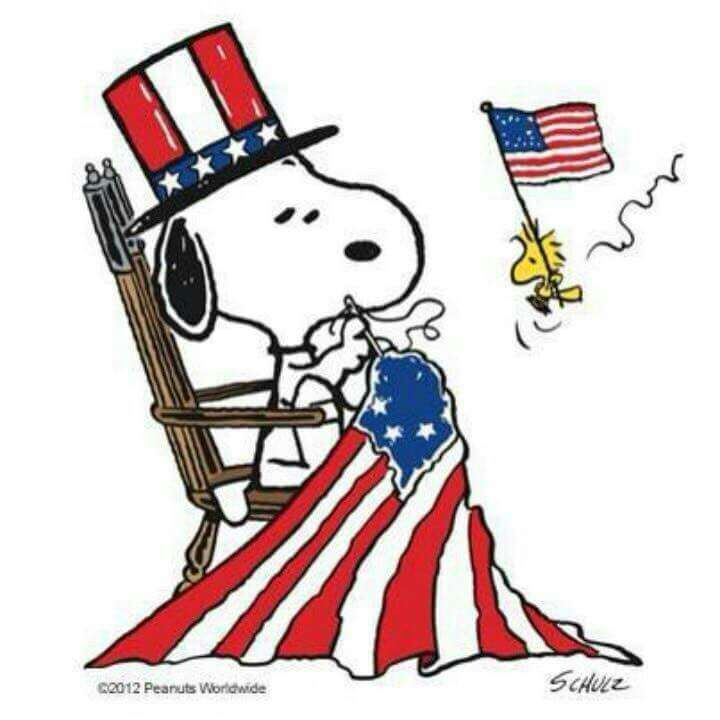 720x720 Memorial Day Snoopy Clipart