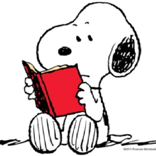 320x320 Collection Of Snoopy Reading Clipart High Quality, Free