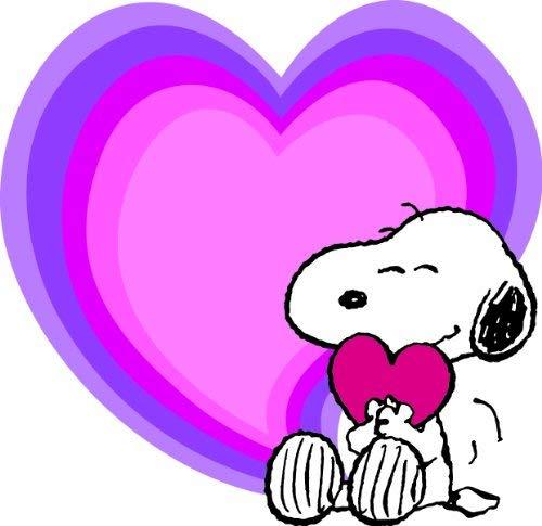 500x485 Valentine's Day Snoopy